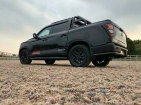 2020 Ssangyong Musso Brand new Seeker Musso stealth edition SARACEN 4k style up