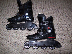 Size 1 and Size 1-4 & 5-8 Adjustable Rollerblades