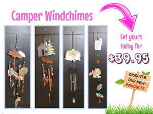 Assorted Wind Chimes for your RV Awning