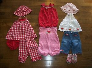 Gymboree 'Watermelon Picnic' 9 Piece Set, Girls 3-6 months
