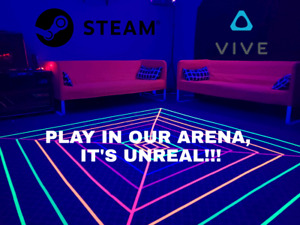 Play our Steam Powered HTC Vive!!!