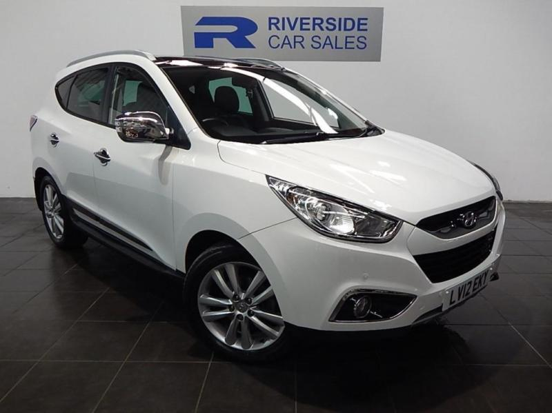 2012 12 hyundai ix35 2 0 premium crdi 4wd 5d auto 181 bhp diesel in burton on trent. Black Bedroom Furniture Sets. Home Design Ideas
