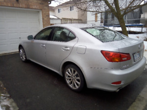2008 Lexus IS 250 Sedan ( ONLY 160,000 KMS )