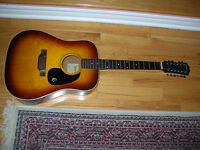 Epiphone FT-160 Texan 12 Made in Japan Acoustic Guitar