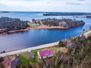 Property for Sale in Sheet Harbour, 800ft Oceanfront on 9 Acres!
