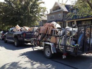 Junk Removal for residential and Reno debris $25 & up
