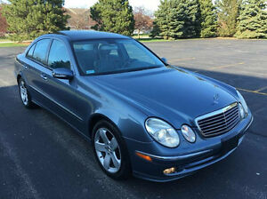 2003 Mercedes-Benz E500 Retired owner