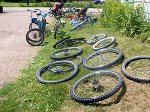 GENTTLY USED BIKE TIRES, AND MORE