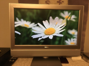 "27"" LCD flatscreen TV for sale"