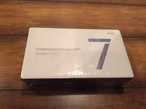 Tablette iconia one 7 16GB Brand new Sealed