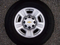8 Bolt GMC or CHEV Tire and Rim Package