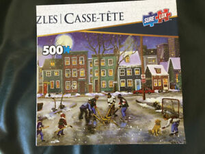 Puzzles for sale.