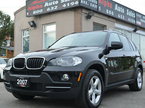2007 BMW X5 3.0si SUV *Low KM* No Accidents *Certified|Warranty!