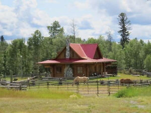 Beautiful Loghome for rent
