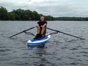 Rowing a sup