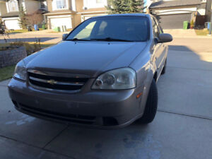 Chevrolet Optra LS 2005 – Low KM (Full Set Winter Tire Included)