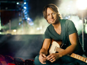 YES! (3) GA FLOOR PIT TICKETS == KEITH URBAN == TOUCH THE STAGE!