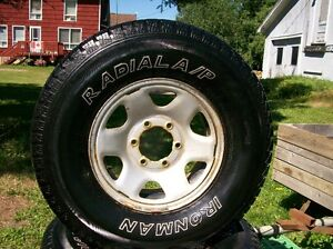 Radial Ironman Tires/Rims