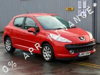 2007 PEUGEOT 207 1.4 M play 5dr 2yrs free credit offer