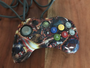 Manette PDP Marvel Versus Fighting Pad Xbox 360