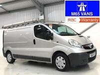 VAUXHALL VIVARO 39,000 LOW MILEAGE 2.0CDTi 115ps 2900 LWB SILVER LONG WHEELBASE