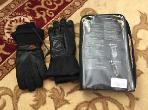 HD Motorcycle heated gloves