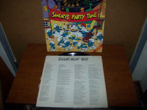 Smurfs Party Time LP
