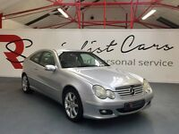 MERCEDES C220CDI AUTO SPORT COUPE [STUNNING EXAMPLE / FULL SERVICE HISTORY / FANTASTIC SPEC]