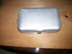 Umco Small Double Sided Aluminum Tackle Box Model P-9 Windsor Region Ontario image 3