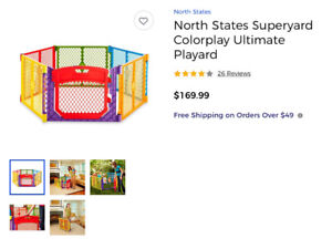 PET GATE,KENNEL,PET FENCE,BABY PLAYPEN,FOLDING CRATE $65