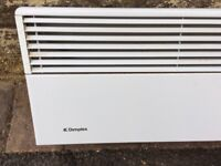 Dimplex wall mounted electric heater