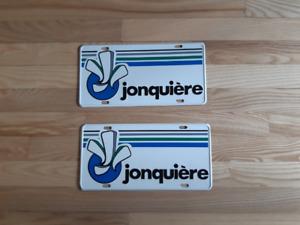 plaque automobile Jonquiere