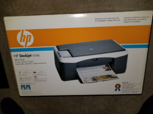 HP Deskjet All In One Printer- Brand New in Sealed Box- REDUCED!