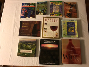 Various Wine making, grape growing and winery management