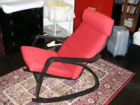 Chaise berçante Poäng Rocking Chair