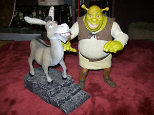 Donkey and Shrek Collectible Figures