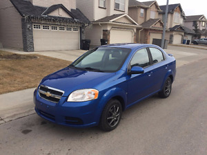 2009 Chevrolet Aveo ls Sedan PERFECT CONDITION LOW KM
