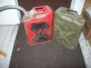 U.S.A. Army issue Gas Cans.