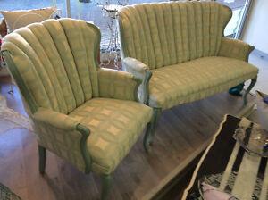 Vintage Chair & Settee