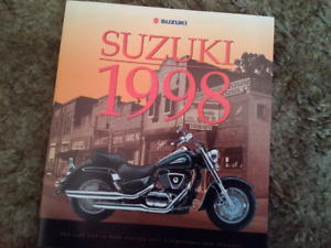1998 Suzuki Dealer Brochure