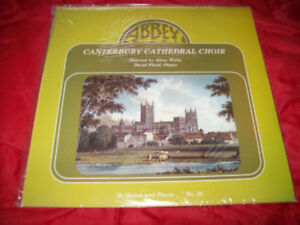 Rare, Pristine, Unplayed UK Christian Cathedral Choirs Vinyl LPs