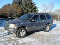 1999 Jeep Grand Cherokee Ltd.  silver/grey Other