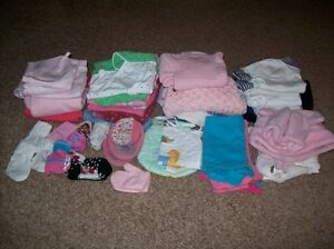 Girls Lot Of Clothes 3 Months To Size 2