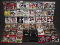 PS3 with 41 games: NHL, FIFA, NBA, WWE, UFC, Sleeping Dogs, etc