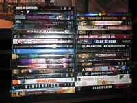 Dvds and few Blu rays