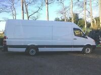 Fully insured Man and big van for single item to full load/Motorbike recovery