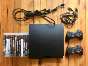 Playstation 3 including 2 controller + 11 games (see pictures)