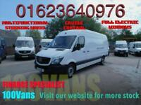 MERCEDES-BENZ SPRINTER 2.1TD 313CDI LWB CRUISE CONTROL AND MORE