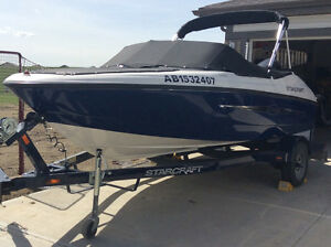 2007 Starcraft 16 ft boat with Evinrude E-TEC 90 HP motor