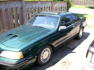 88 T BIRD TURBO 2.3  5 SPEED IN GREAT CONDITION